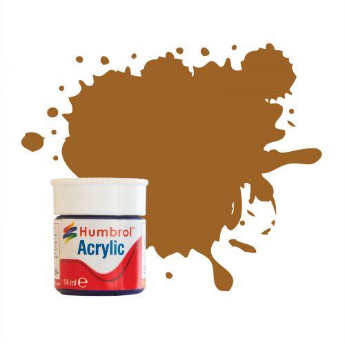 copper Acrylic Humbro paint 14ml