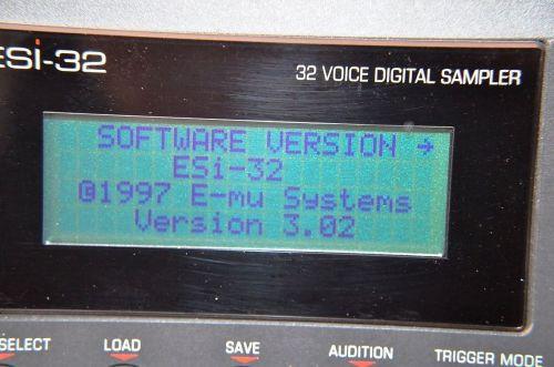 EMU ESI-32 ESI2000 OS upgrade Kit V3.02 firmware
