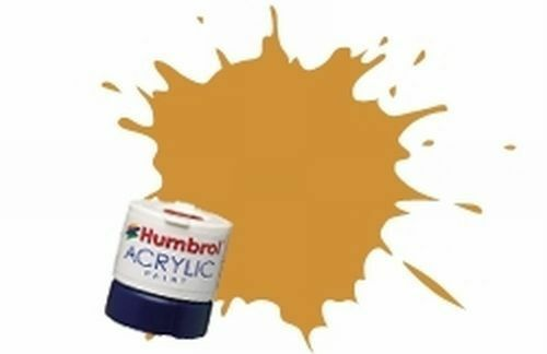 Gold Acrylic Humbro paint 14ml