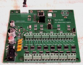 remote control lighting unit